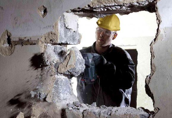 Демонтаж бетона и особенности метода